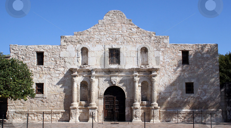 Alamo in San Antonio stock photo, The Alamo in San Antonio, Texas.  A large piece of Texas history and pride.  Remember the Alamo! by Brandon Seidel
