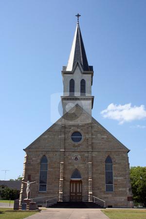 Church stock photo, A small rural church in Texas. by Brandon Seidel