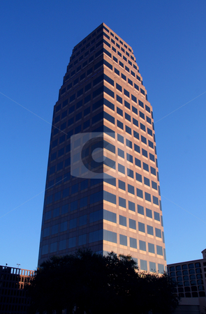 Austin Texas Skyline stock photo, A building in the Austin, Texas skyline. by Brandon Seidel