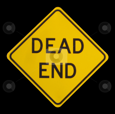 Dead End Sign stock photo, A dead end street sign by Brandon Seidel