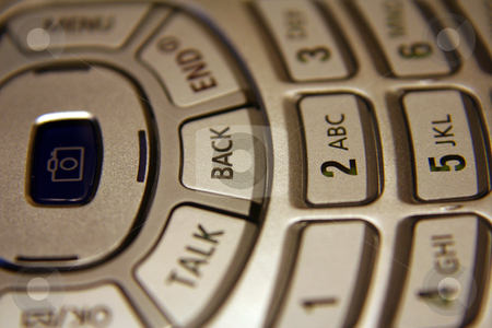 Cell Phone Keypad stock photo, A close up of a cell phone keypad. by Brandon Seidel