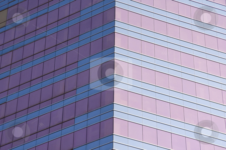 Building facade stock photo, Tall building facade by Ingvar Bjork