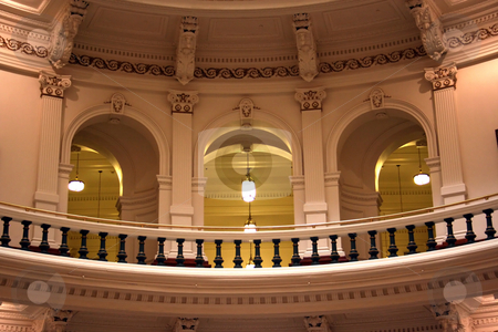 Inside the State Capitol Building in downtown Austin, Texas stock photo, A nice clean shot of the inside of the Texas State Capitol Building in downtown Austin, Texas. by Brandon Seidel