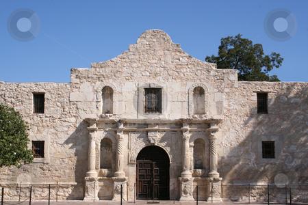 Alamo in San Antonio stock photo, The Alamo in San Antonio, Texas.  A large piece of Texas history and pride.  Remember the Alamo! by Brandon Seidel