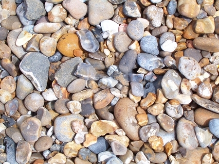 Pebbles stock photo,  by Jack Richardson