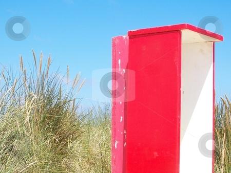 Beach Box stock photo,  by Jack Richardson