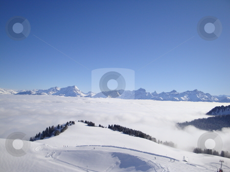 Snowy Mountains stock photo,  by Jack Richardson