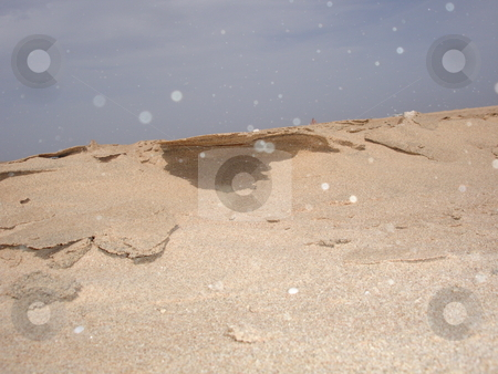 Sand Cliffs stock photo,  by Jack Richardson