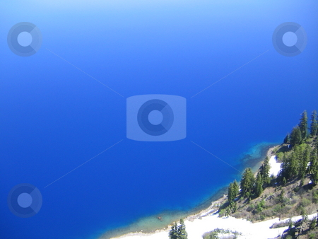Crater Lake stock photo, Pictures of Crater Lake, Oregon, in June 2009 by Michael Santero