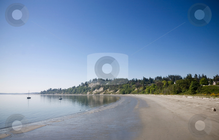 Fort Worden State Park stock photo, Fort Worden State Park in Port Townsend Washington. by Travis Manley