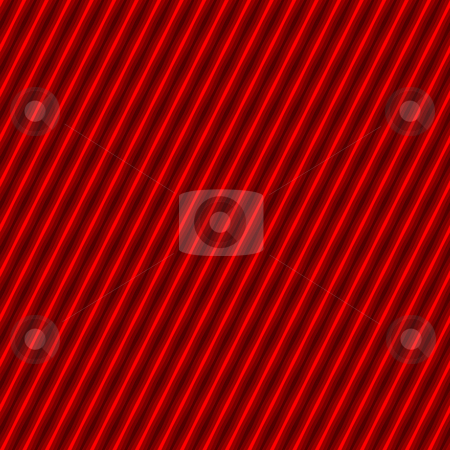 Tight Seamless Hazard Stripes stock photo, A tightly woven red and black stripes texture that works as a seamless pattern in any direction.  Great for both print and web designs. by Todd Arena