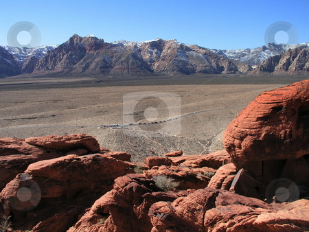 Red Rock National Park stock photo,  by Ryan Dandy