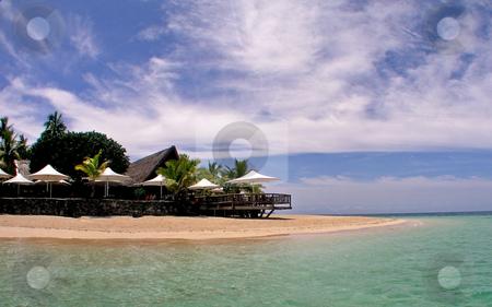 Castaway Island Resort stock photo,  by Ryan Dandy