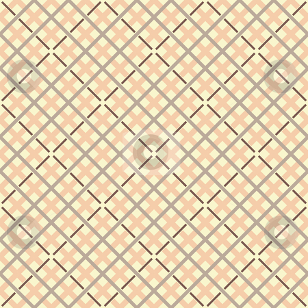 Seamless Checkered Background stock vector clipart, Vector illustration of a seamless checkered background by Inge Schepers