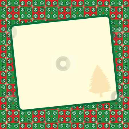 Christmas background stock vector clipart, Retro Christmas vector illustration by Rositsa Maslarska