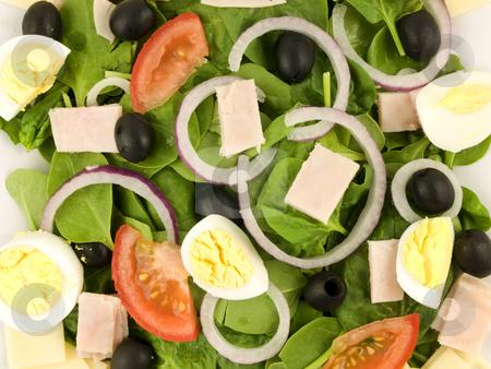 Cobb Salad stock photo, Cobb Salad by John Teeter