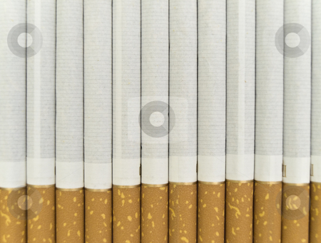 Cigarette  stock photo, Photo of the cigarette background by Sergej Razvodovskij
