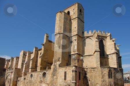 Eglise Notre Dame de Lamourguier, Narbonne stock photo, Eglise Notre Dame de Lamourguier, Narbonne, Aude, Languedoc Roussillon, France. jeweller museum. by Bonzami Emmanuelle