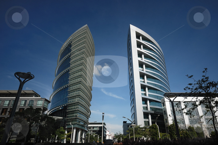 Modern Building stock photo, Modern Building by Jaggat Images