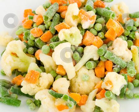 Vegetarian food stock photo, Vegetarian food ,fresh frozen vegetables background by Vladyslav Danilin