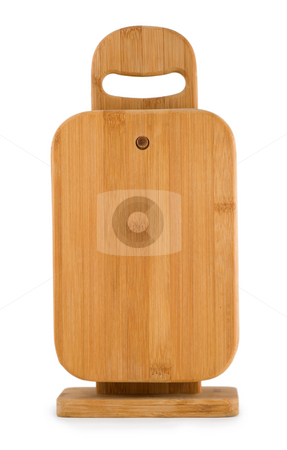 Kitchen chopping board  stock photo, Kitchen chopping board isolated on white background by Vladyslav Danilin