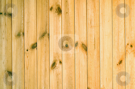 Wooden wall stock photo, Surface of yellow rough wooden wall by Vladyslav Danilin