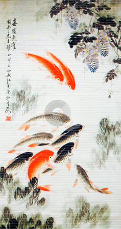 Symbol fortune  stock photo, Symbol fortune carp koi picture by Vladyslav Danilin