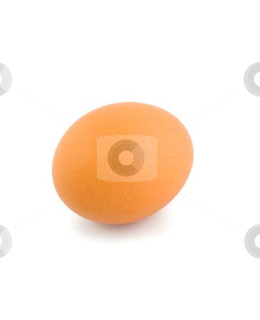Egg chicken stock photo, Egg chicken isolated on white background by Vladyslav Danilin