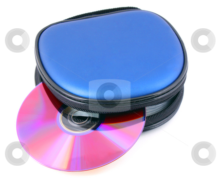 Disk cd stock photo, Disk cd isolated on white background by Vladyslav Danilin