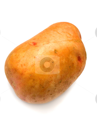 Potato stock photo, Potatoes ,isolated on white background. by Vladyslav Danilin