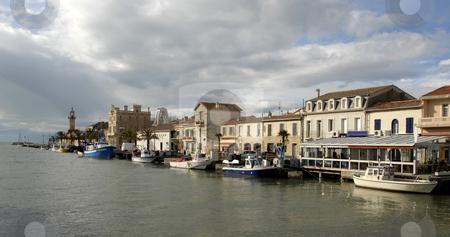 Harbor of Grau du Roy stock photo, Harbor of Grau Du Roy, Languedoc Roussillon, France by Bonzami Emmanuelle
