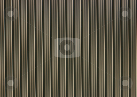 Steel Wall stock photo, An exterior steel wall. by Tom Weatherhead