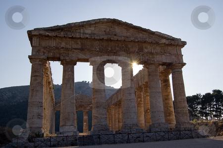 Temple of Segesta, wonderful Sicily stock photo, The Doric temple of Segesta (5th century BC, 6 by Roberto Marinello
