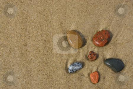 Beach stock photo, A Stones on beach in Baltic Sea by Adam Kraszewski