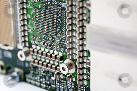 Motherboard stock photo, Logic board and computer mother board circuit by Kenneth Ro