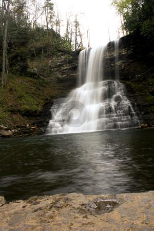Cascade falls stock photo,  by Rushang Mehta