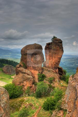 Rock formation hdr stock photo, Rock formations - Belogradchishki skali Bulgaria by Desislava Dimitrova
