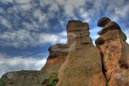 Rock formation hdr stock photo, Rock formations - Belogradchishki skali Bulgaria by Desislava Dimitrova