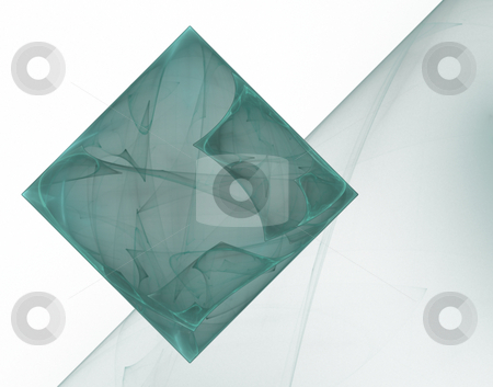 Rectangle stock photo, Abstract background with rectangle on white - illustration by J?