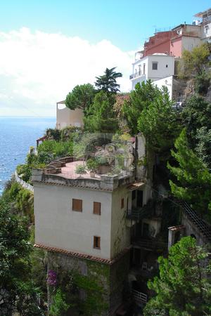Positano at the Amalfi coast stock photo, Positano, colourfull town at the Italian Amalfi coast. by Peter Van veldhoven