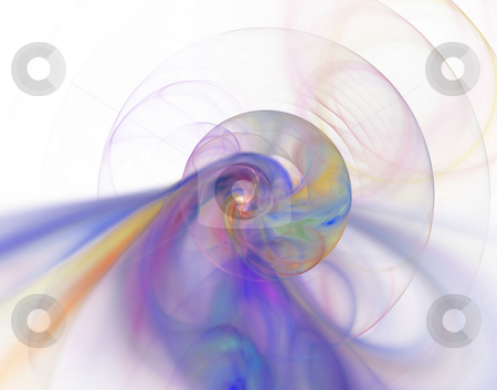 Abstract acoustic waves stock photo, Abstract colorful background - abstract acoustic waves - illustration by J?