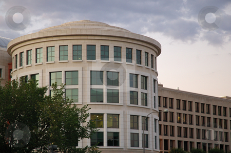 Modern Office Building stock photo, Modern office building in Washington, DC. by dcslim