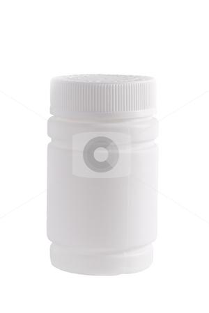 plastic container for medicine stock photo, plastic container for medicine by Valery Kraynov