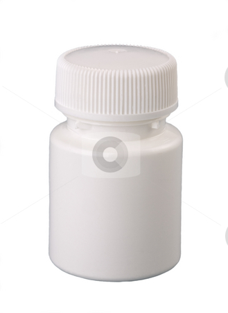plastic container for medicine stock photo, plastic container for medicine by Valery Kraynov