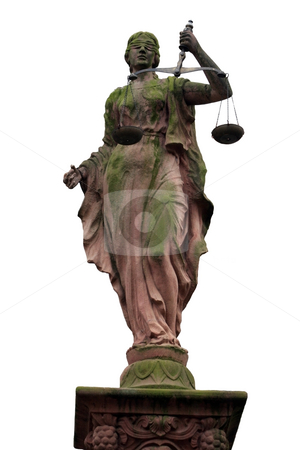 Lady Justice stock photo,  by Juergen Priewe