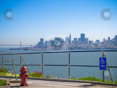 San Francisco stock photo, View of San Francisco from Alcatraz by Jaime Pharr