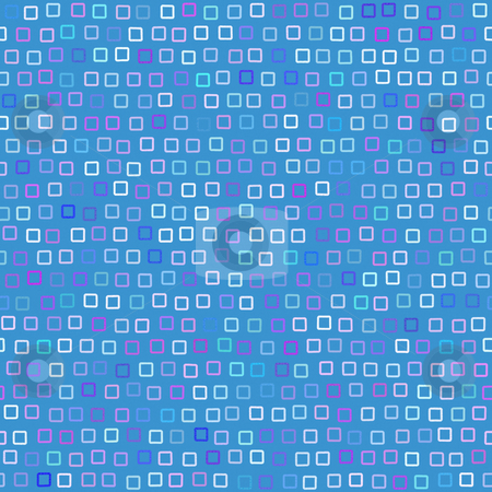 Funky Squares Pattern stock photo, A funky squares pattern that tiles seamlessly. by Todd Arena