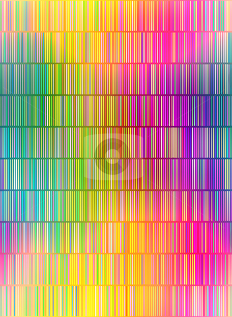 Colored lines pattern stock photo, Seamless texture of many small vertical vibrant lines by Wino Evertz