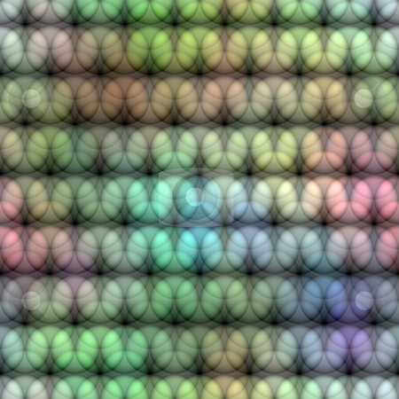 Pastel circle pattern stock photo, Seamless texture of repeating round shapes in soft colors by Wino Evertz