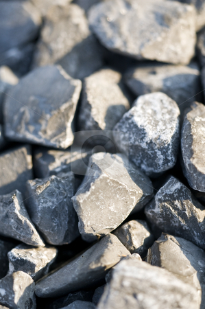 Rocks, gravel, texture stock photo, A close-up of gray rocks. by Kristen Wood